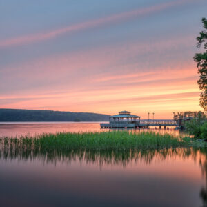 2-osaiset Canvastaulusarjat – Mukkulan Ranta Auringonlasku