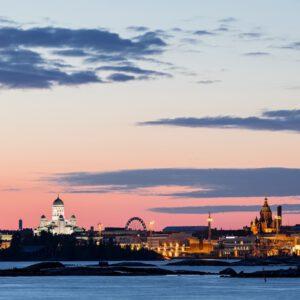 2-osaiset Canvastaulusarjat – Helsinki 3