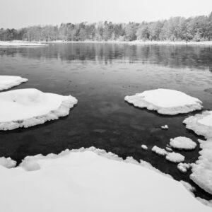 5-osaiset Symmetriset Canvastaulusarjat – Lauttasaari Vattuniemi 1
