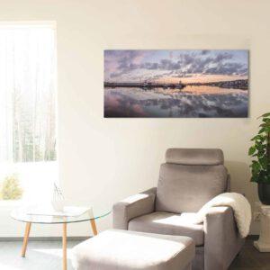 1-osainen Canvastaulu – Lahden Satama Panorama