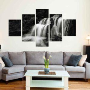 5-osaiset Symmetriset Canvastaulusarjat – Kullaoja