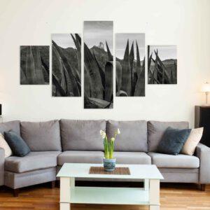 5-osaiset Symmetriset Canvastaulusarjat – Tejeda 2