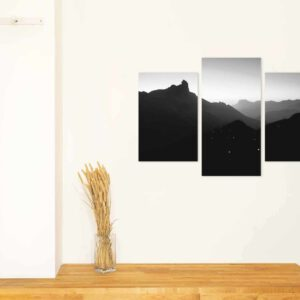 3-osaiset Symmetriset Canvastaulusarjat – Tejeda 1