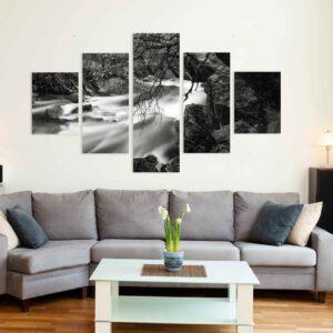 5-osaiset Symmetriset Canvastaulusarjat – Senja 2