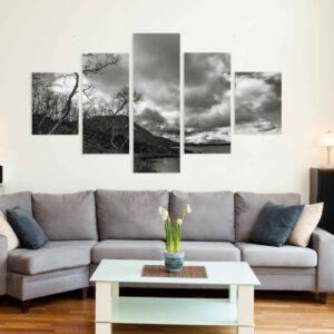 5-osaiset Symmetriset Canvastaulusarjat – Kilpisjärvi