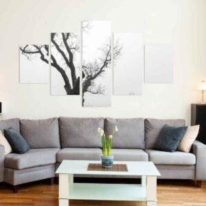 5-osaiset Symmetriset Canvastaulusarjat – Otepää