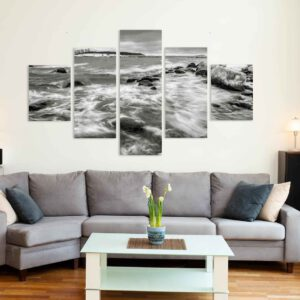 5-osaiset Symmetriset Canvastaulusarjat – Lauttasaari Talvi 1