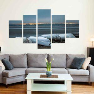 5-osaiset Symmetriset Canvastaulusarjat – Myllysaari 1