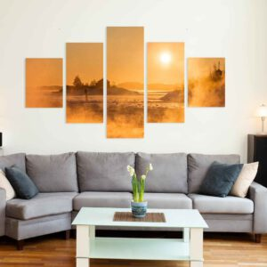 5-osaiset Symmetriset Canvastaulusarjat – Helsinki Ryssänsaari
