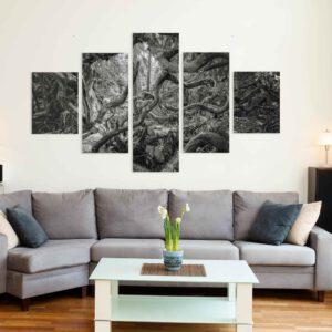 5-osaiset Symmetriset Canvastaulusarjat – Tiirismaa