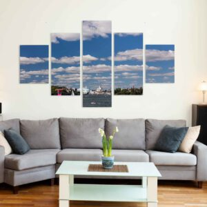 5-osaiset Symmetriset Canvastaulusarjat – Helsinki 1