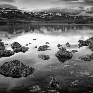 1-osainen Canvastaulu – Siilasjärvi Enontekiö