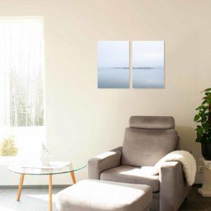 2-, 3- ja 4-osaiset akustiikkapaneelisarjat – Vaimee – Myllysaari 3  (korkeus 90 cm)