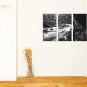 3-, 4- ja 5-osaiset akustiikkapaneelisarjat – Vaimee – Senja 2  (korkeus 120 cm)